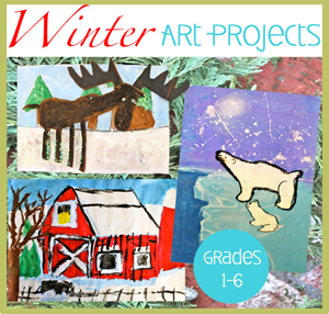 winter art lessons from DSS