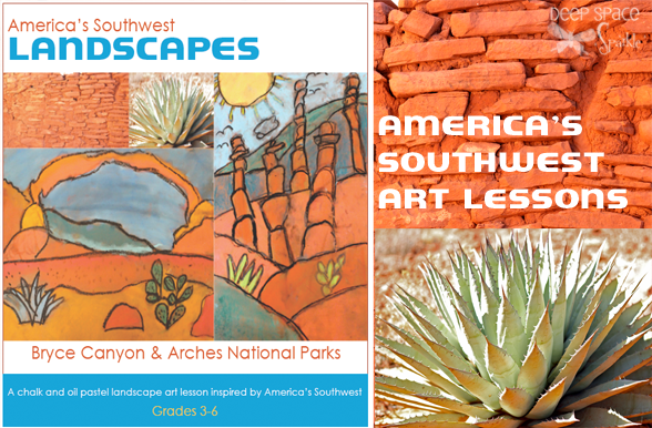 America-Southwest-art-lessons