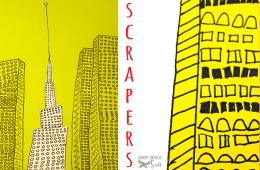 Skyscraper Line Drawing