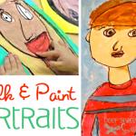 chalk-and-paint-portraits