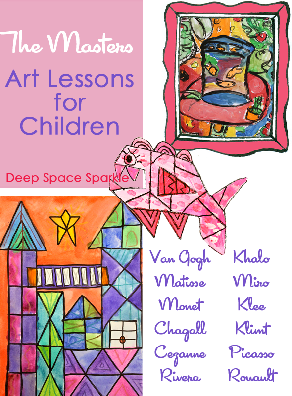 Art Lessons : Teaching the masters art lesson round up deep space sparkle
