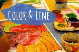 Easy Color & Line Art Lesson