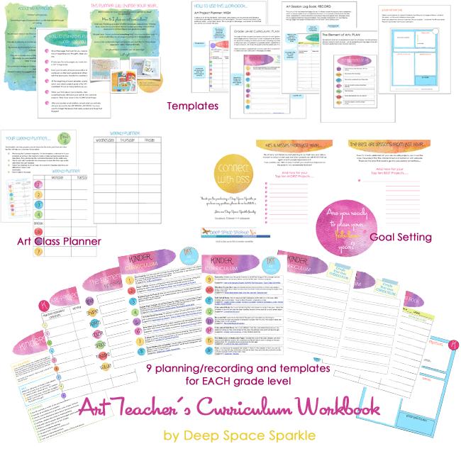 Art Teacher Curriculum Workbook