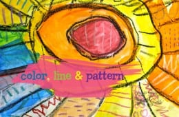 Color, Line and Pattern Art Project