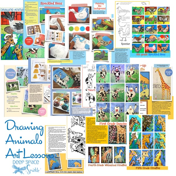Drawing-Animals-art-lesson-plans