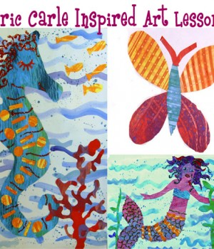 Eric Carle -Inspired Art Lesson Plans