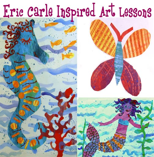 Eric Carle Inspired Art Lessons - Deep Space Sparkle