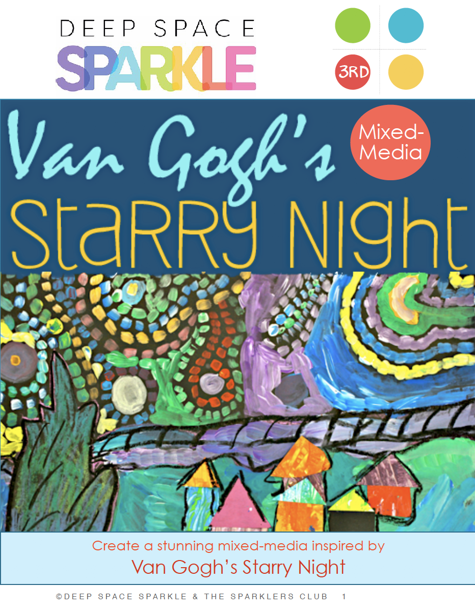 Starry Starry Night Art Ideas