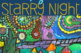 Starry Night Multi-Media Art Lesson