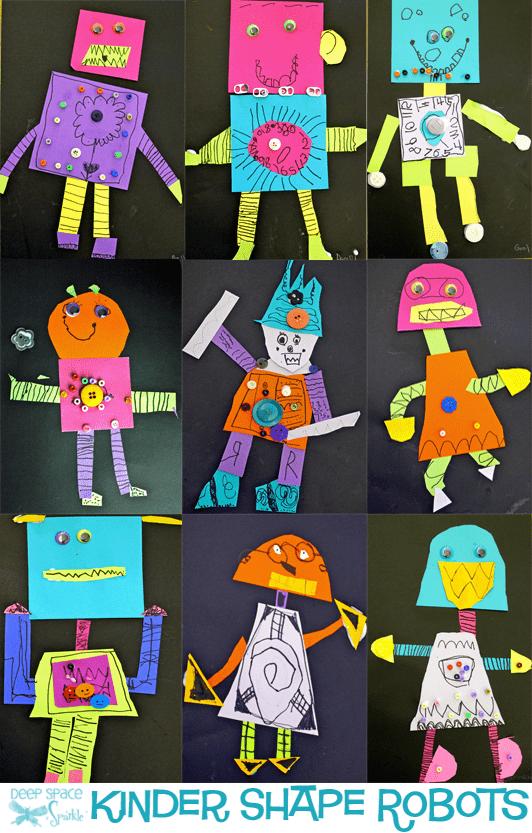 Shape Robots Art Project Deep Space Sparkle