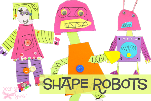 Shape Robot Art Project