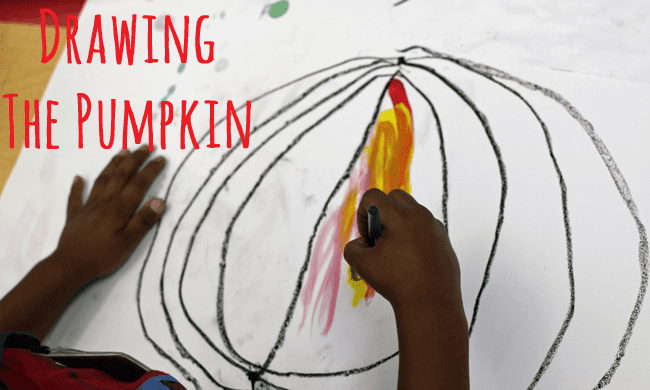 How-to-draw-a-pumpkin