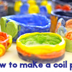 How to make a coil pot with kids