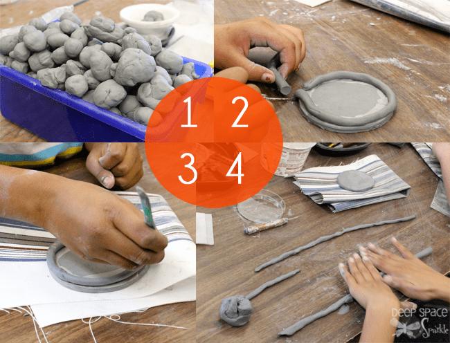 Elaborate coil pots