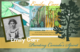 Emily Carr Art Lesson Plan