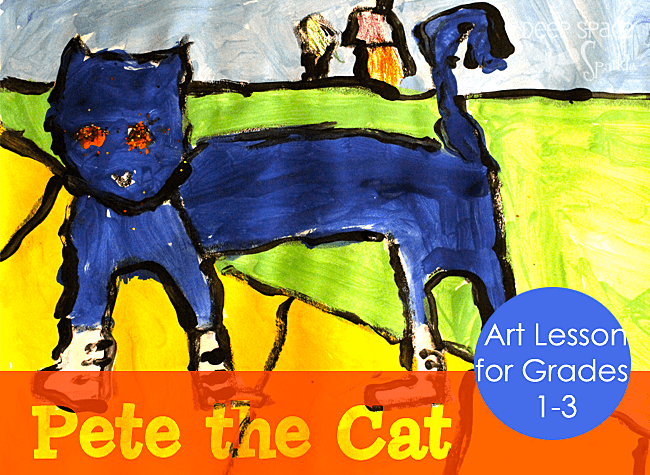 Pete the Cat art project for kids