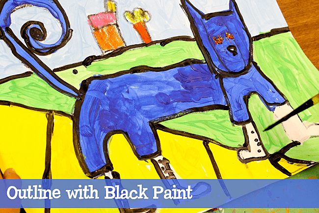 Pete-the-Cat-art-project-for-kids