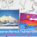 Lawren-Harris-and-Ted-Harrison-Art-lesson