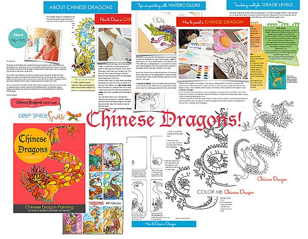 Sneak a peek at DSS's Chinese Dragon lesson plan