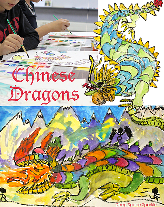 Learn how to draw and paint a Chinese dragon.