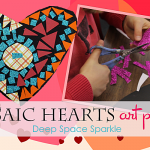 Mosaic-Hearts-art-project-for-kids