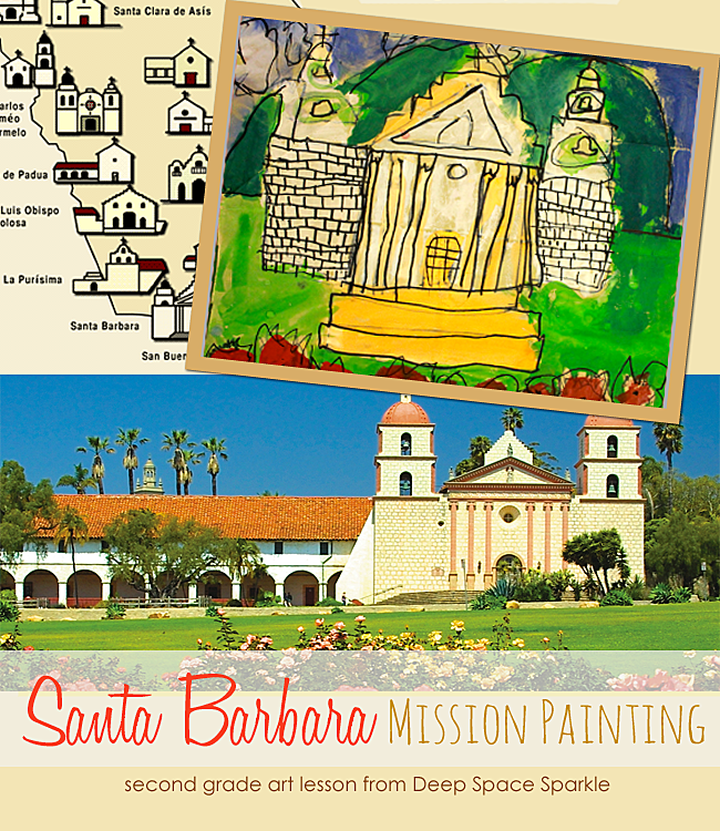 Santa-Barbara-Mission-Art-Lesson