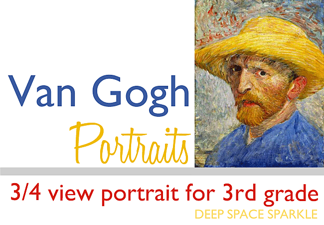 Van Gogh Inspired ¾ View Portraits