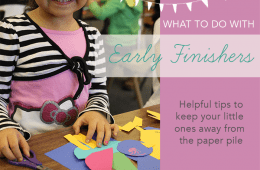 What to do with Early Finishers
