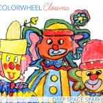 Colorwheel-Clowns-art-Project