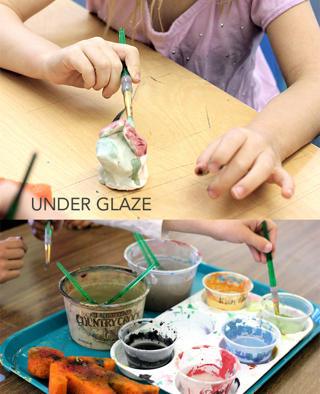 KINDER-CLAY-ANIMALS-Underglaze