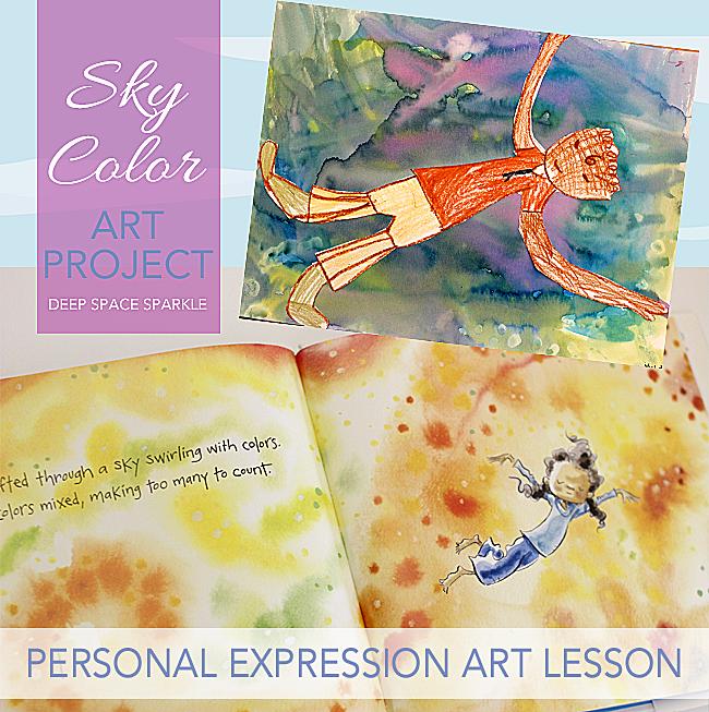 Sky Color Art Project