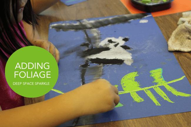 ADDING-FOLIAGE for Chengdu Art Lesson