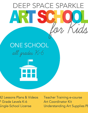 Art Curriculum Program/One School License