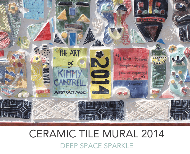 Kimmy Cantrell Inspired Ceramic Tile Mural