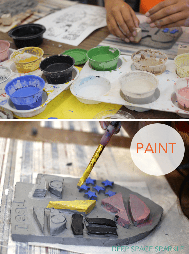 Painting-a-ceramic-tile