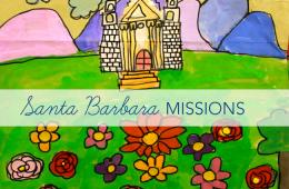Santa Barbara Mission Paintings