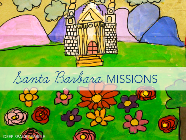santa barbara mission paintings