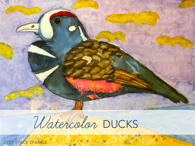 Watercolor-Ducks