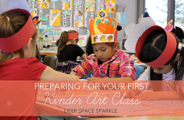 Prepping for Your First Art Class with Kinders (yikes!)