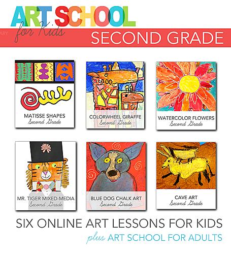 Art School for Kids: Second Grade