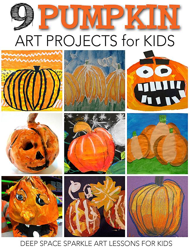 Pumpkin Craft Projects Kindergarten
