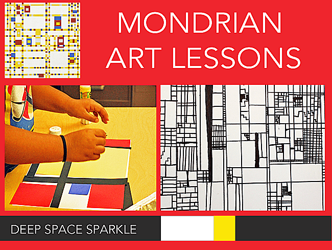 Mondrian-art-lessons
