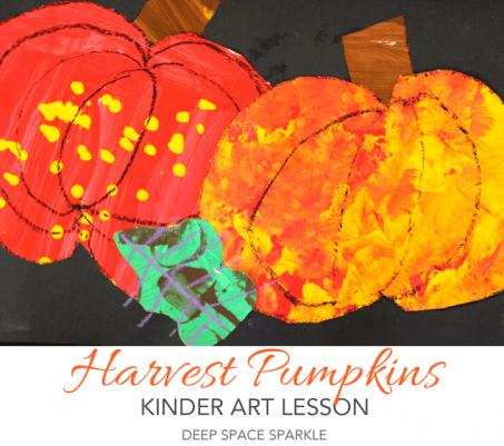 Pumpkin Harvest Collage