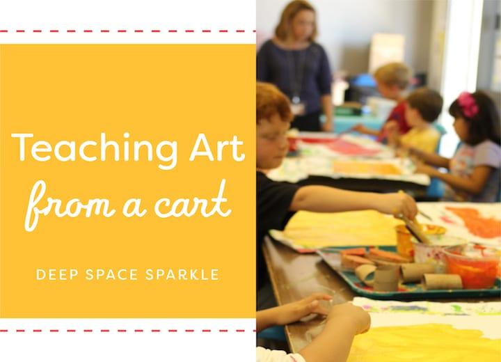 Teaching Art from a Cart