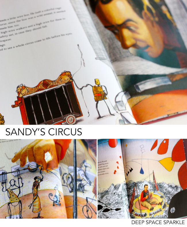 Sandy's Circus: great art books that your kids will love