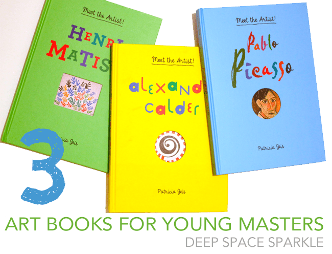 Beautiful Books for the Young Artist