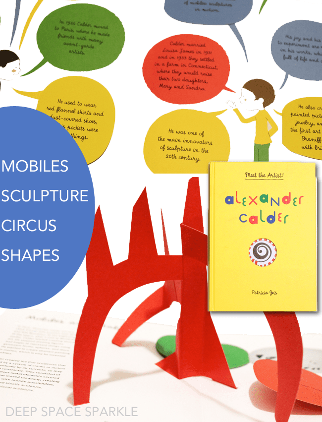 3 playful and interactive art books for the young artist or an art teacher's classroom library. Meet the Artist Series: Calder