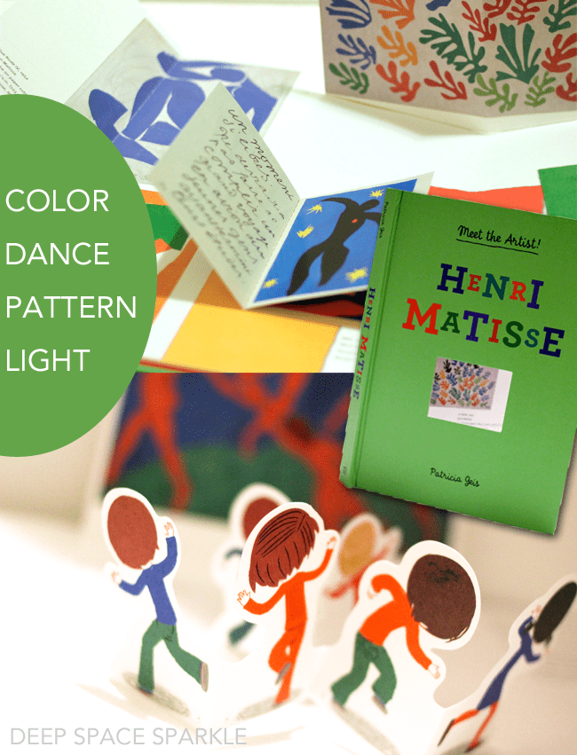 3 playful and interactive art books for the young artist or an art teacher's classroom library. Meet the Artist Series: Matisse