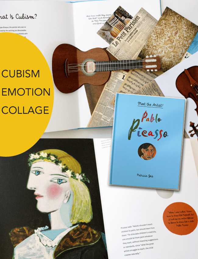 3 playful and interactive art books for the young artist or an art teacher's classroom library. Meet the Artist Series: Picasso