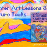 A collection of 7 winter art and craft projects for kids ages 5-10